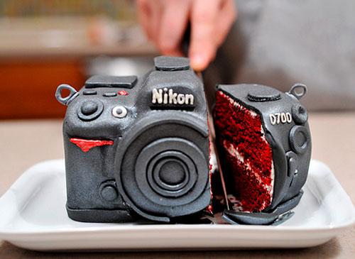 camera bolo aniversário
